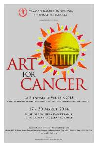 "YKIDKI Menyelenggarakan Pameran ""Art for Cancer"""